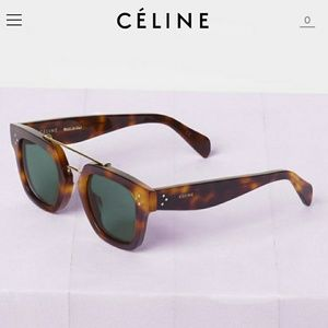 e7c3e5c7f40f Celine Accessories - Celine Square Tortoise Shell Blonde Havana
